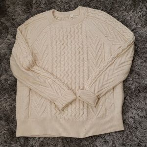 Gap off white sweater